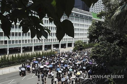 美국무부, 홍콩 여행주의보 2단계로 격상