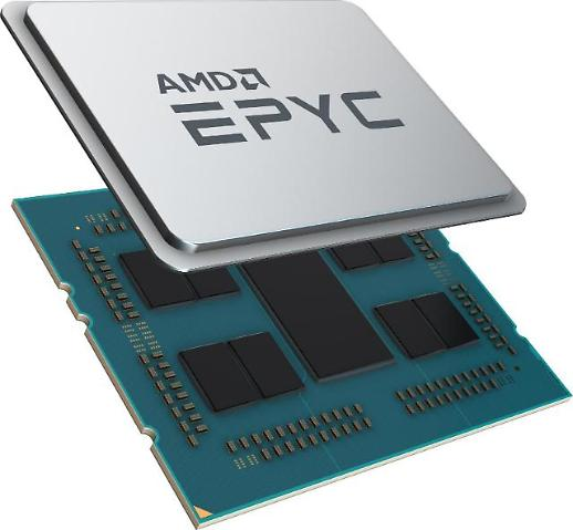 AMD, 7나노 공정 기반 서버용 프로세서 EPYC 2세대 공개