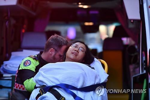 호주 시드니 도심서 무차별 칼부림..1명 사망·1명 부상