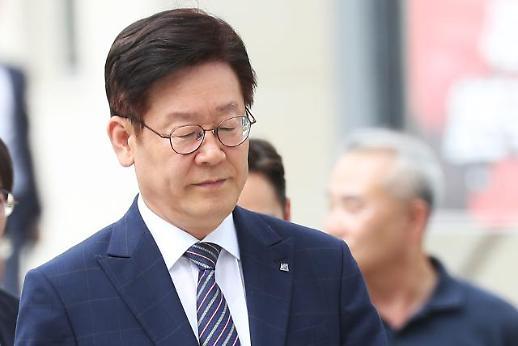 검찰, 이재명에 징역 1년6개월·벌금 600만원 구형