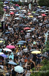 홍콩 시위 18일 최대 분수령 되나?...300만 명 참여 호소