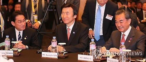 中, 韓日 갈등에 중재 가능성↑...내주 한중일 외교장관 베이징서 회담