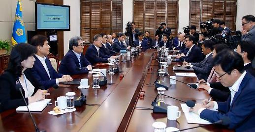 [뉴스분석] 北 노골적인 통미배남에도…다시 평화경제 꺼내든 文대통령