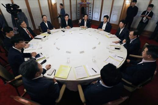 고위 당정청, 소·부·장 특별법 통과 주력키로…추석 민생 점검