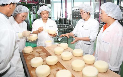 중·고등학생 급식에 국산 치즈·발효유 제공…소비 활성화