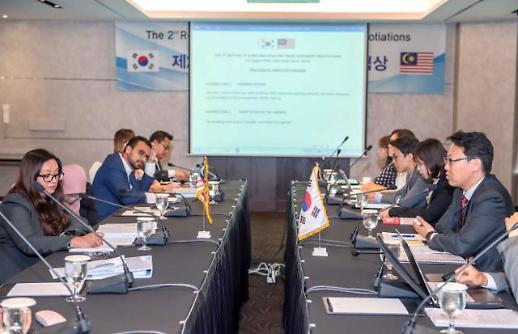 한-말레이시아 FTA 3차 협상 서울서 개최…추가 시장개방 논의