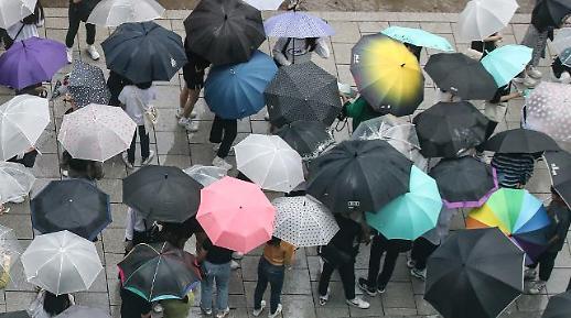 우산 챙기세요…전국 흐리고 비
