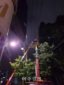 태풍 링링에 전국 16만 가구 정전…한전 99.7% 복구