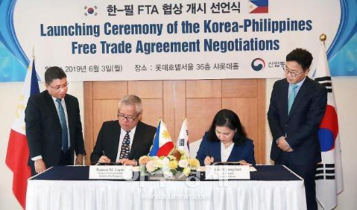 한-필리핀 FTA 4차 협상 세부서 개최…상품양허 등 분야별 타결방안 모색