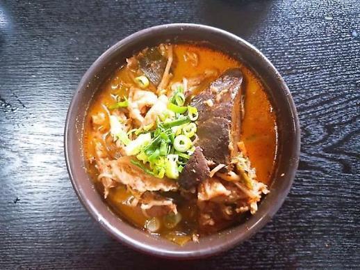 [백년 맛집] ⑳이방식당… 추석연휴 마지막 날 경남서 '수구레국밥'