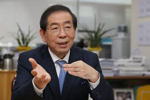 박원순 광화문광장 재구조화 사업 시기 연연 않겠다…내년 4월 총선 이후 착공 공식화