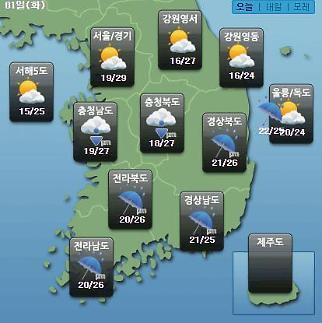 [오늘의 날씨 예보] 18호 태풍 미탁 영향 남부·제주도, 폭우+강풍…제주공항 상황은?