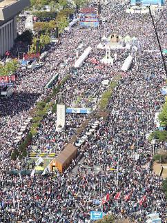 [현장] 광화문에 또다시 조국 퇴진 외치는 대규모 시위