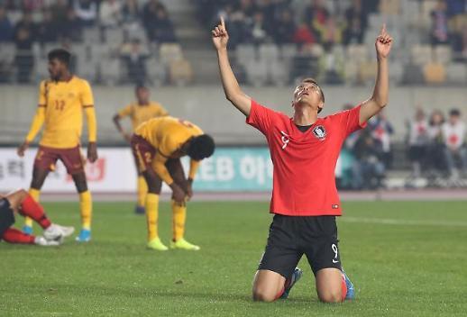 한국 스리랑카 2022 카타르 월드컵 예선 시청률은?…9.5% 기록