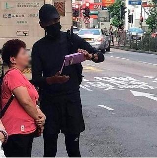 전재산 기부한다던 주윤발, 마스크 쓰고 홍콩 시위에 등장?