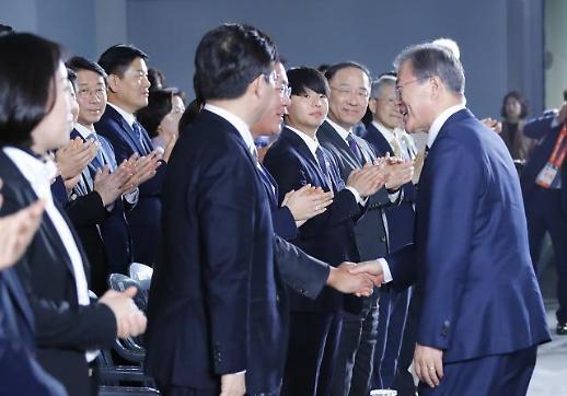 정의선 만난 文대통령…미래차로 4차 산업혁명 시대 선도