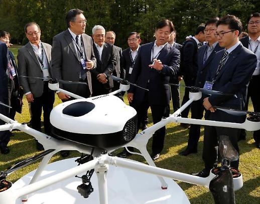 두산모빌리티이노, 2시간 비행 가능한 드론용 수소 연료전지팩' 출시