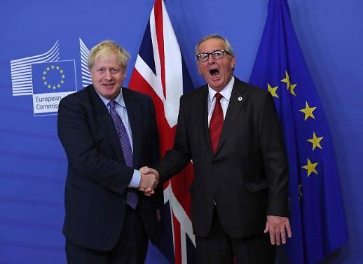 존슨 英 총리, EU에 마지못해 브렉시트 연기 요청