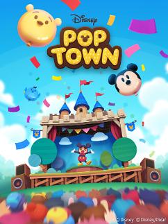선데이토즈, 아시아에 모바일퍼즐 게임 '디즈니 팝 타운' 출시