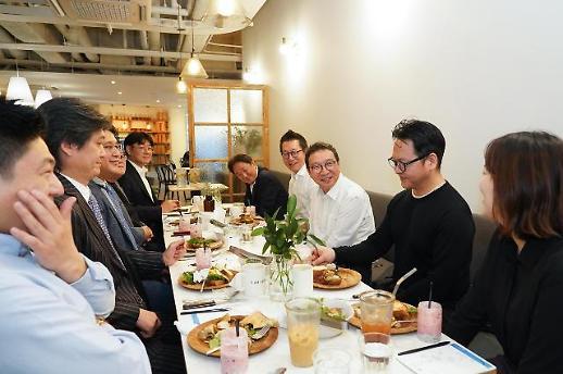 김학수 금결원장, 핀테크 기업에 오픈뱅킹 적극 활용해달라