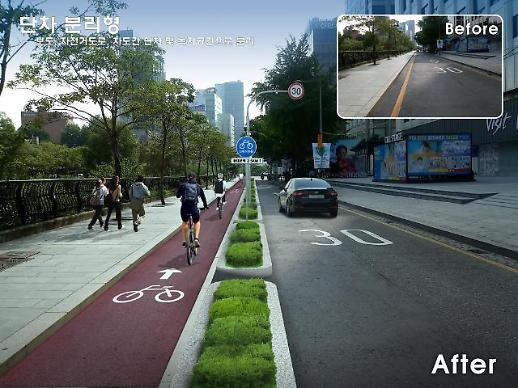 서울시 자전거혁명 시동…청계천 순환도로 내년 말까지 조성