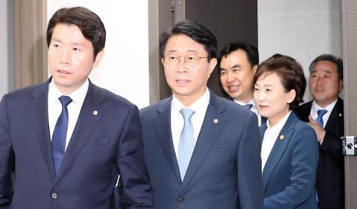 이인영 한국당, 적폐 박찬주 영입 거둬들여 다행