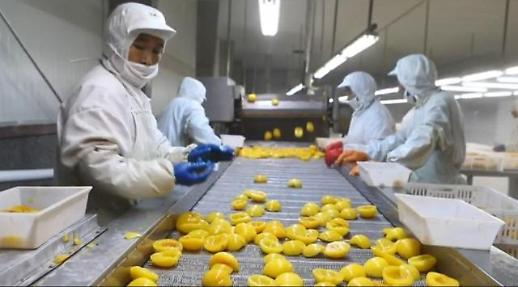 [인민화보]세계로 수출되는 중국의 과일과 채소