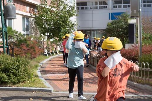 현대건설, 국내 최초 어린이 전용 재난방재용 경안전모 개발