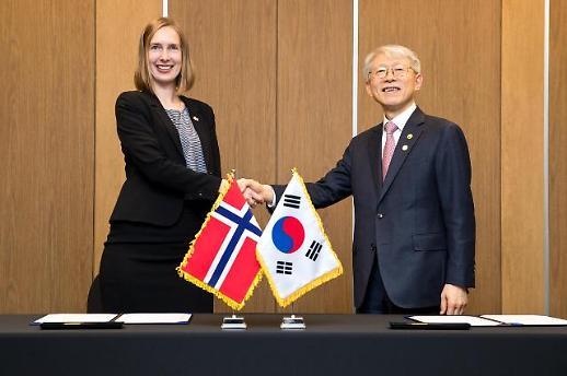 과기정통부, 한-노르웨이 간 과학기술 MOU 체결… 극지 연구·신재생에너지 협력 활성화