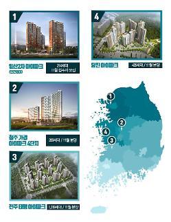 HDC현대산업개발, 전국서 연내 5개 단지 3883가구 공급