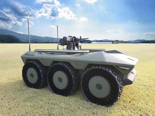 KT-현대로템, 다목적 무인차량에 5G 자율주행 기술 적용