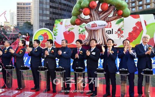 '2019 경북사과 Festival', 5일부터 3일간 서울광장에서 열려