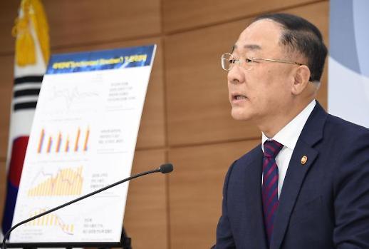 정부 경제 인식·정책 기조 지적 온당치 않다 홍남기의 날 선 항변