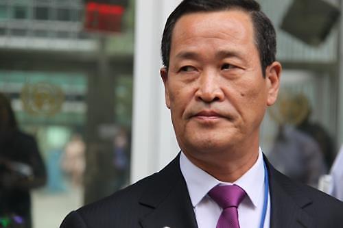 김성 北유엔대사, 美 향해 북·미 싱가포르 공동성명 촉구...南엔 이중적