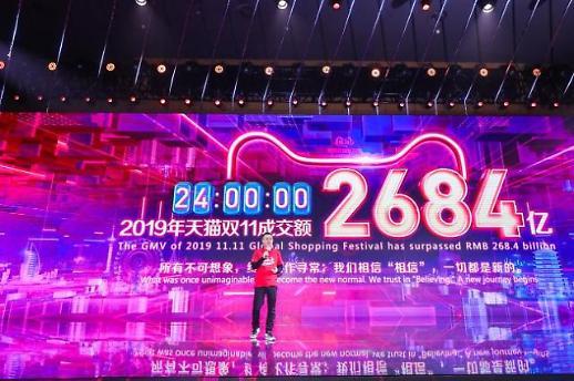 中알리바바, 광군제 44조원 신기록…한국 2년 연속 3위(종합)