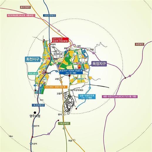 LH, 양주 회천신도시 일반상업용지 공급