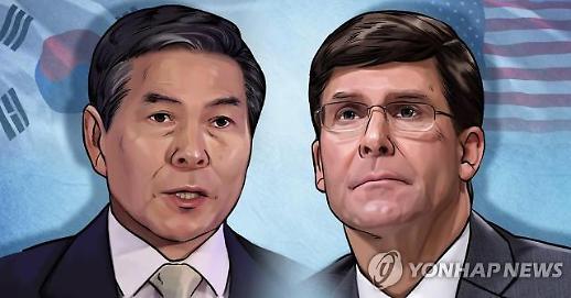 정경두, 美·日국방장관과 17일 태국서 지소미아 담판 짓나