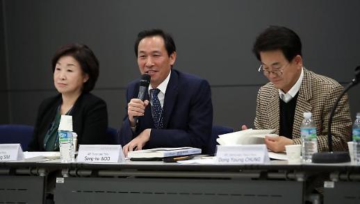 """우상호, '86그룹 용퇴론'에 """"모욕감 느껴"""""""
