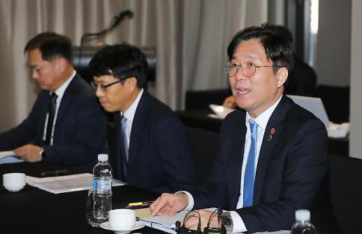 성윤모 제조업 활성화 위해 법 정비·세제 지원