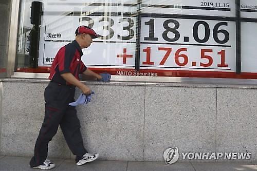 [아시아증시 마감]미·중 고위급 통화소식에 주요국 지수 일제히 상승