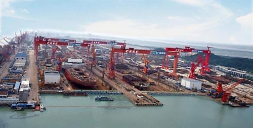 세계 최대 조선사 中 CSG 출범...현대+대우 보다 매출 커
