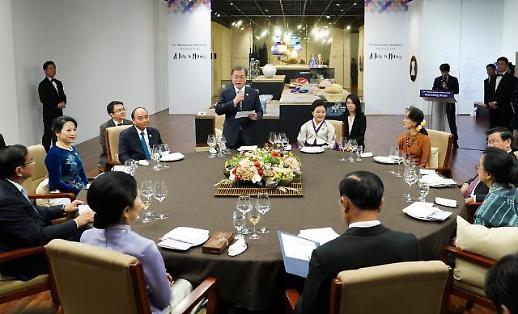 [한·메콩 정상회의] 文, 메콩강 선언 채택→베트남 정상회담…新남방 외교전 박차