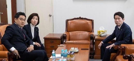 [선거법 부의] 여야 간 이견 평행선…'제2차 패스트트랙' 정국