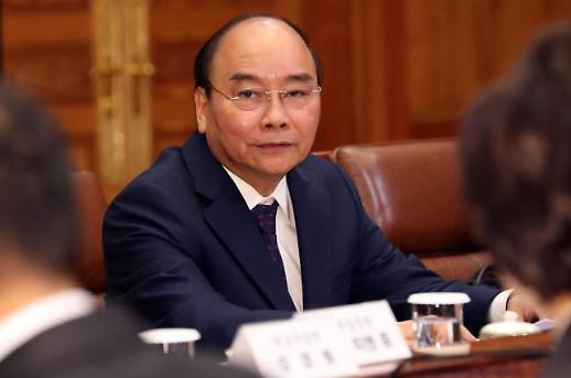 [한·베트남 정상회담] 文대통령 만난 응우옌 쑤언 푹 총리 전략적 협력 동반자 관계 발전 기대(전문)
