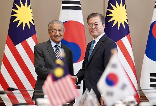 文 대통령 말레이시아, 亞 경제 심장…마하티르 DMZ 평화지대 적극 지지