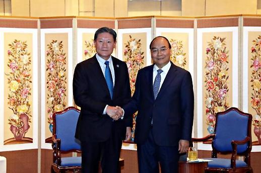 허명수 GS건설 부회장, 베트남 총리와 면담…상호 협조 방안 논의