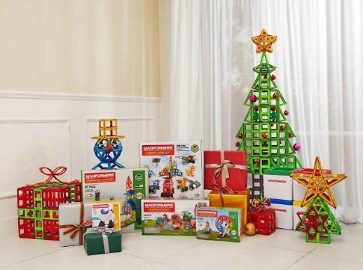 맥포머스 '크리스마스 특별 패키지' 현대홈쇼핑서 내달 2일 첫방