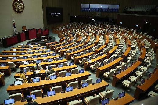 국회 본회의 결국 파행…한국당 필리버스터에 민주당 '보이콧'으로 맞불