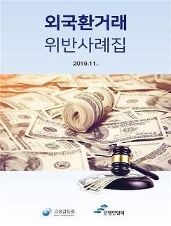 금감원, 외국환거래 위반 사례집 개정·발간