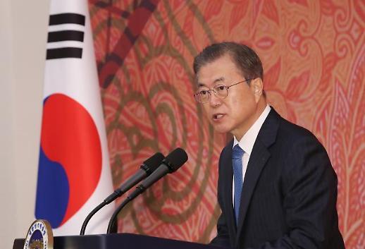 중도층 결집…다시 상승하는 문재인 대통령 지지율